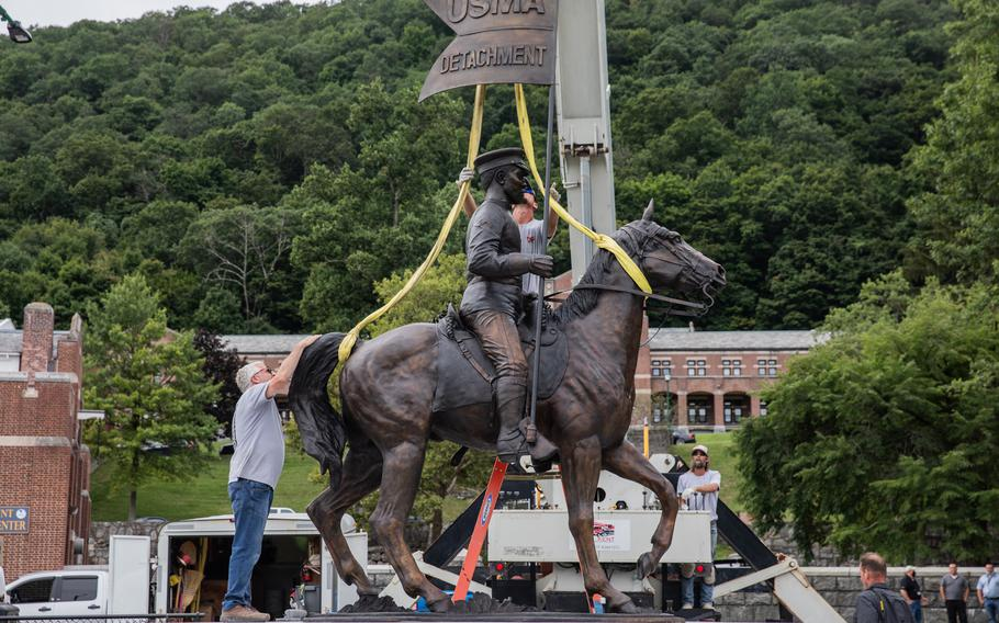 West Point Honors Buffalo Soldiers With Statue