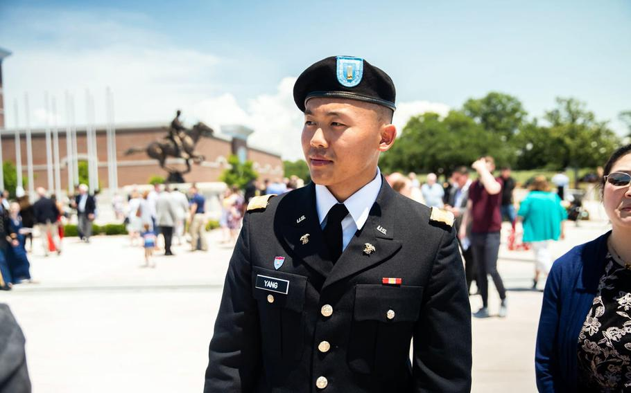 Hikers found 1st Lt. Brian Yang, 25, unresponsive in the Mount Whittier area of Washington state shortly before 2 p.m. Wednesday, July 21, 2021, according to the Cowlitz County Sheriff's Office.
