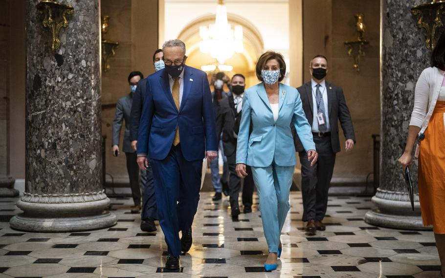 A flurry of activity sets up Senate Majority Leader Chuck Schumer and House Speaker Nancy Pelosi for a last-minute sprint.