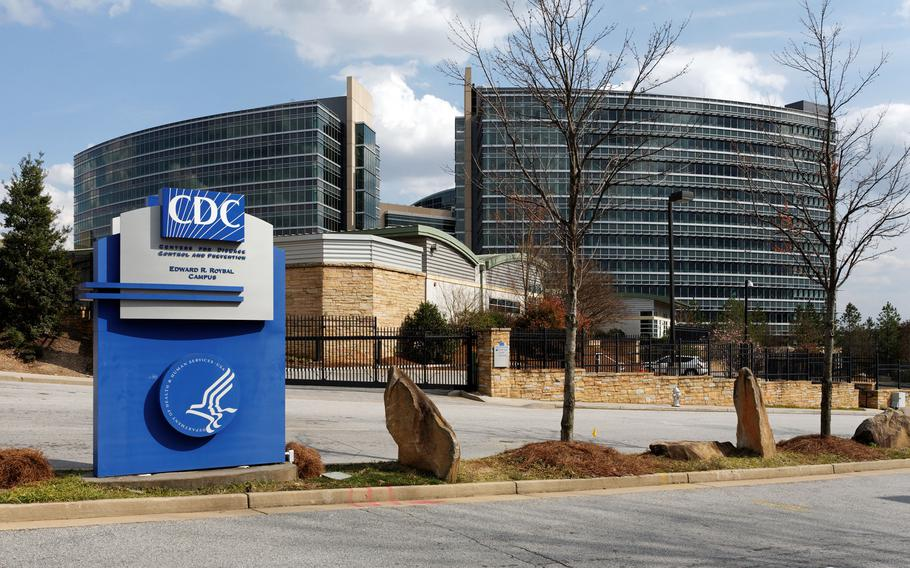 The Centers for Disease Control and Prevention headquarters in Atlanta. U.S. public health advisers are moving slowly toward considering the nationwide plan for booster doses of COVID-19 vaccines to ward off the fast-spreading delta variant, even as the Biden administration seeks a Sept. 20 kickoff.