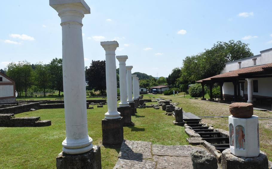 Ruins from an old Roman settlement dating back some 2,000 years can be explored at the Roman Museum Homburg-Schwarzenacker. The museum is less than an hour from Kaiserslautern, Germany.
