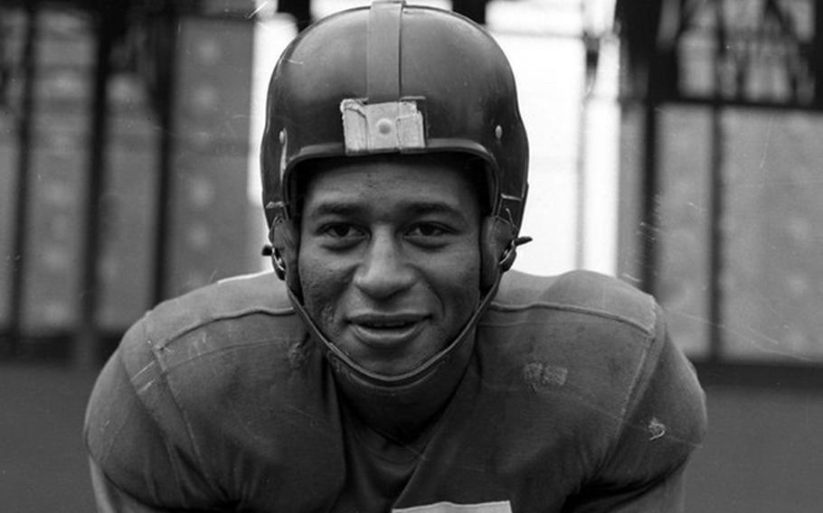 Emlen Tunnell was the first African American to play NFL football for the New York Giants. Tunnell also posthumously received the Coast Guard Silver Lifesaving Medal for his actions in World War II.