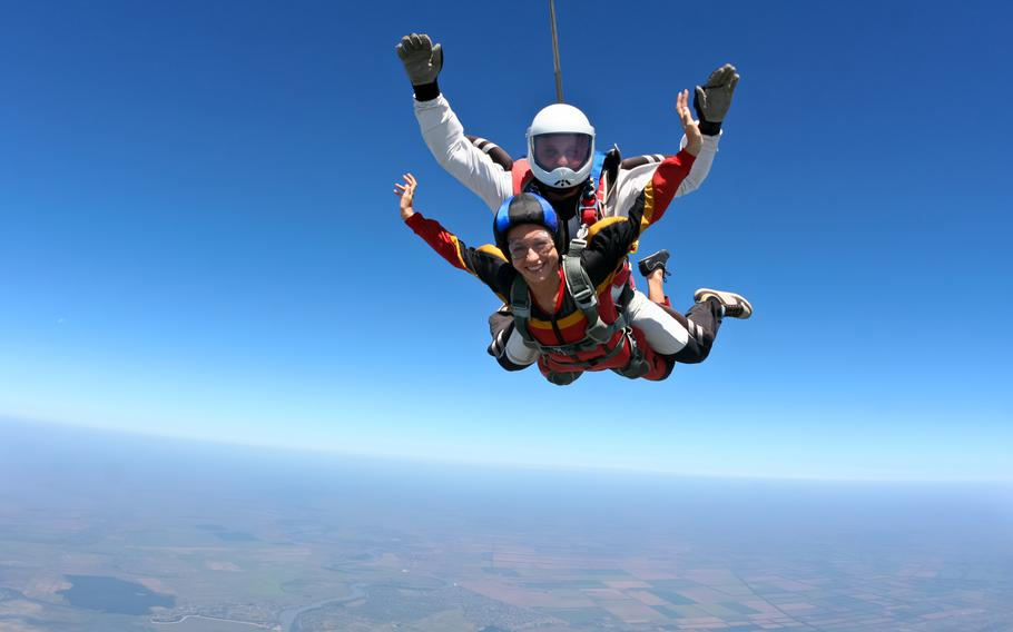 Kaiserslautern Outdoor Recreation offers a skydiving outing July 25.