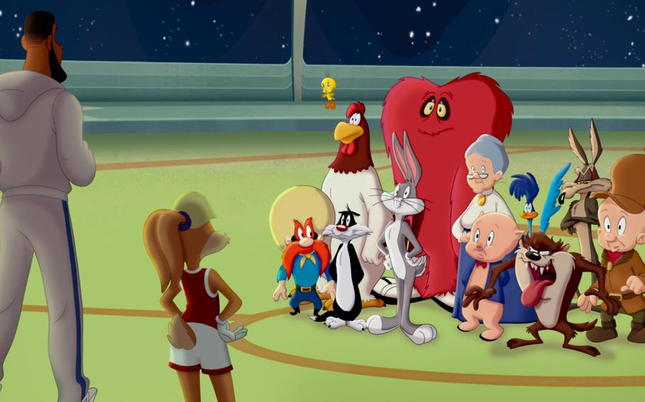 """The Looney Tunes crew teams up with LeBron James in """"Space Jam: A New Legacy."""""""