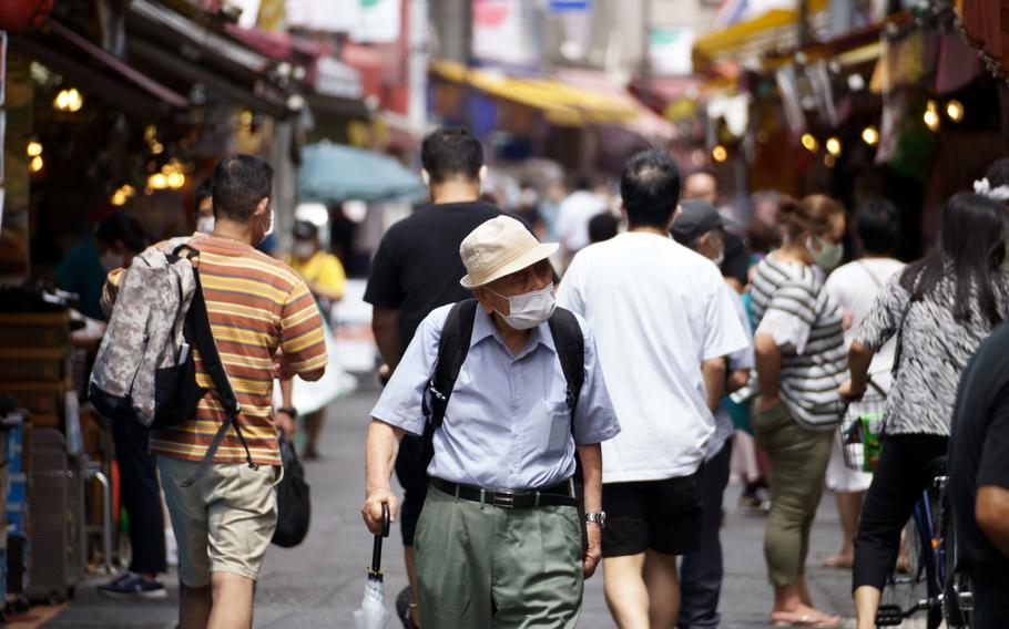 The Tokyo Metropolitan Government reported another 1,915 people tested positive for the coronavirus on Monday, Aug. 30, 2021.