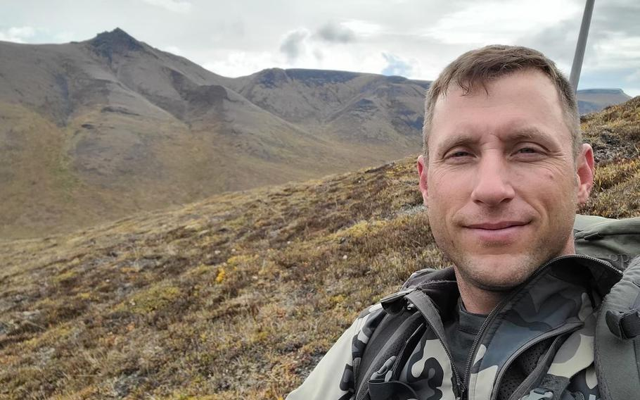 Sgt. 1st Class David Frederick White, a 40-year-old combat veteran and Purple Heart Medal recipient, was found dead Saturday in Wrangell-St. Elias National Park and Preserve. Searchers who found his body believe he attempted to cross a creek, but was swept away by the current.