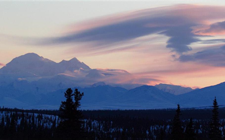 Denali in Alaska.