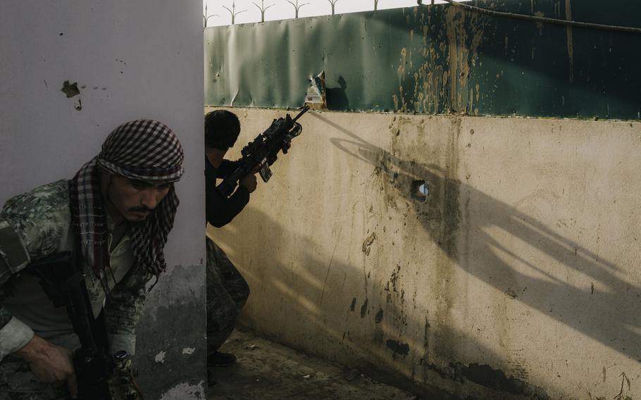 KKA special forces fighters were trained to carry out targeted night operations to arrest suspects or regain territory. But in the final months of the war, special forces in Kunduz and elsewhere were battling on the front lines.