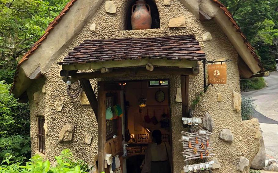 While Nukumori No Mori has no affiliation to Studio Ghibli, it is easy to feel like one of the anime fantasy films' characters while roaming the winding paths past fanciful cottages and storefronts selling things like pottery, baked goods and jewelry.