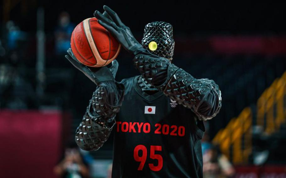 The human-size droid inspiring comparisons to murderous machines in movies is called CUE, an AI basketball robot created by Toyota for sheer fun. Two years ago, an earlier version sank 2,020 free throws consecutively, setting a world record for machines of its type. Last year, it shot 11 goals during a shootout competition in Japan.