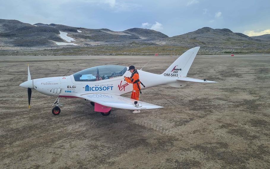 Zara Rutherford, who turned 19 in July and is fromBelgium, is trying to become the youngest woman to fly solo around the world.