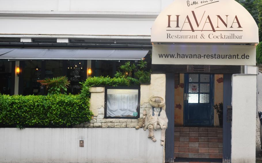 The Havana Restaurant and bar in Wiesbaden, Germany.
