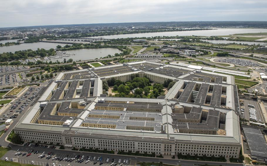 The Pentagon in Washington, D.C., on May 12, 2021. (U.S. Air Force Staff Sgt. Brittany A. Chase/Department of Defense/TNS)
