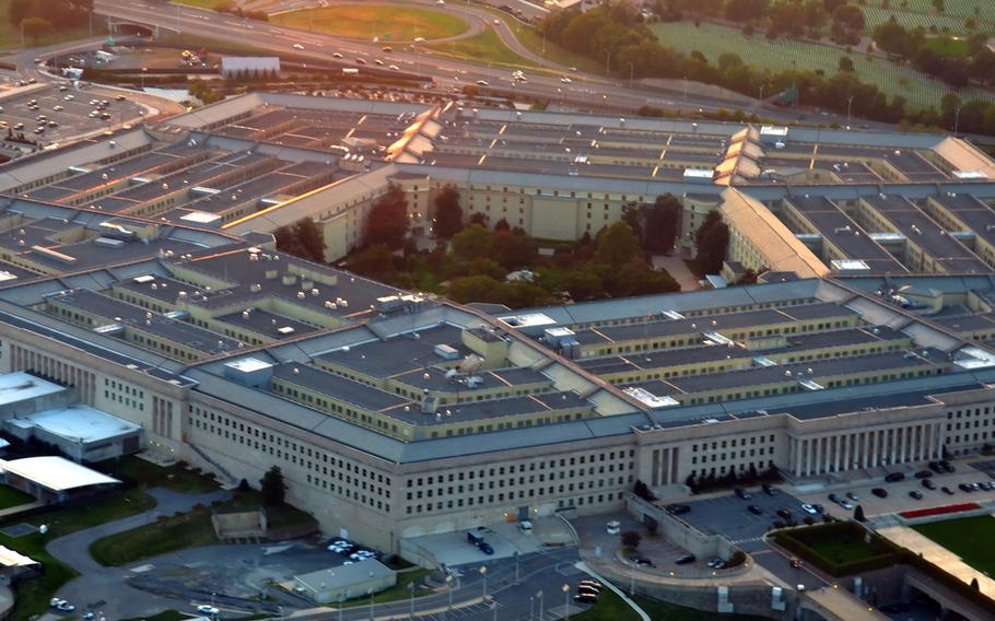 """The Pentagon announced on Tuesday plans for a """"multi-vendor"""" cloud-computing project and said it """"intends to seek proposals from a limited number of sources, namely Microsoft and Amazon Web Services."""""""