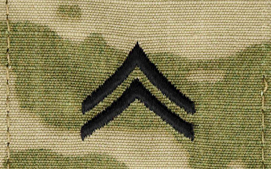 Starting July 1, soldiers with the rank of specialist will be laterally promoted to corporal if they've been recommended for advancement and have completed the Basic Leader Course.
