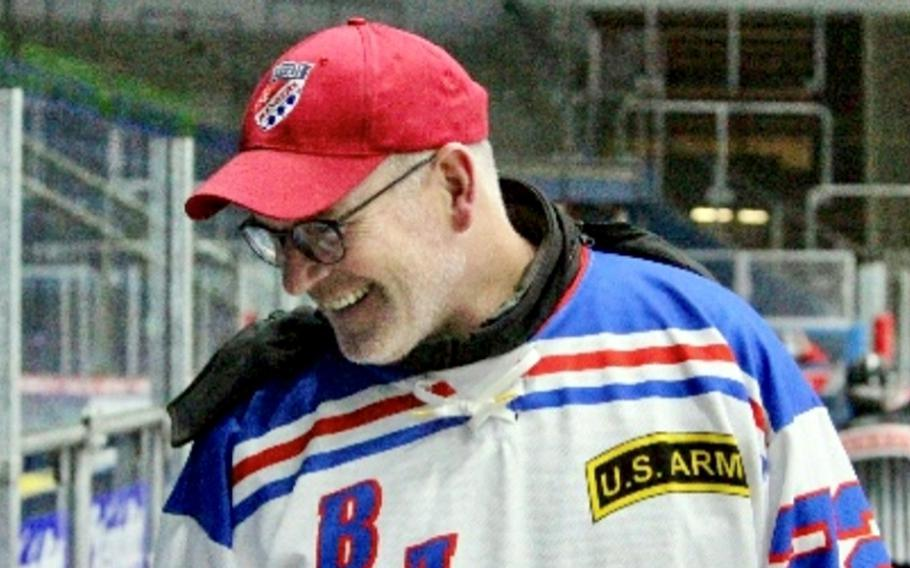 When he arrived at Grafenowoehr Training Area in 2009, author and Army veteran Brad Huestis started a base hockey team that he coached and played on for a decade.