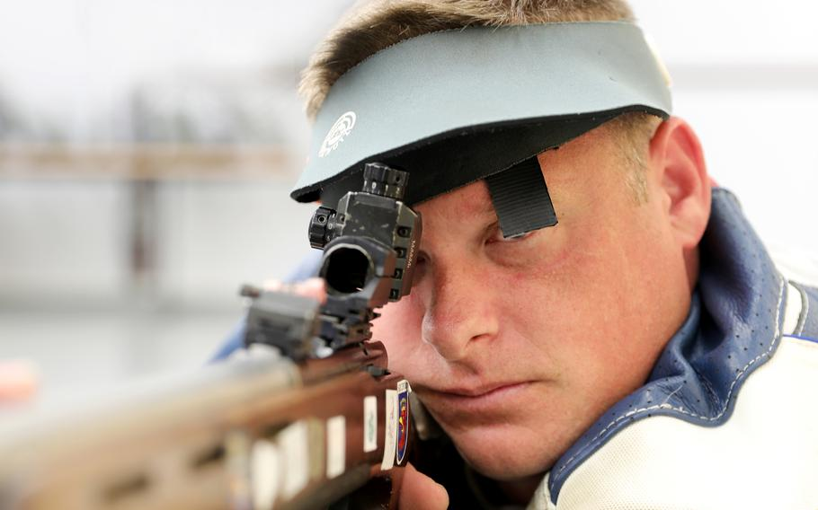 Army Staff Sgt. John Joss will shoot for the U.S. team at the Tokyo Paralympics that begin Aug. 24, 2021.