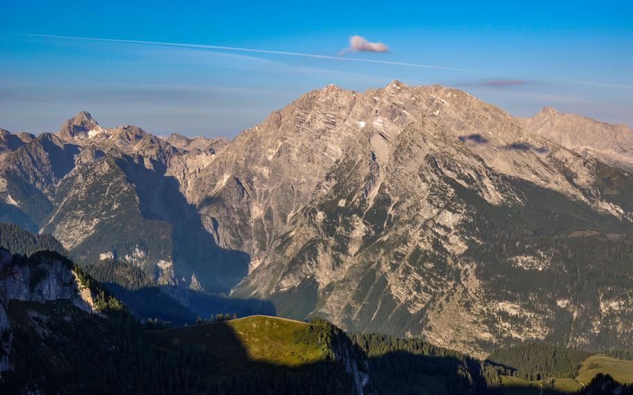 Get outdoors with other members of the military community through tours offered on base. Pictured: The Watzmann peak, Germany's third-highest, in the Bavarian Alps south of the village of Berchtesgaden.