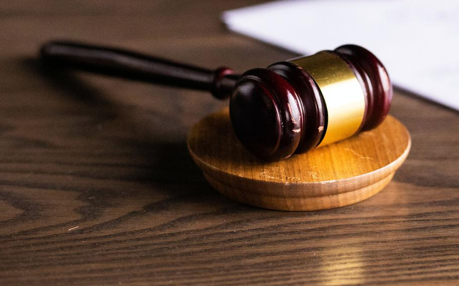 A U.S. civilian working for the Army and Air Force Exchange Service on Okinawa pleaded guilty to attempted rape and theft charges at Naha District Court, Wednesday, Oct. 6, 2021.