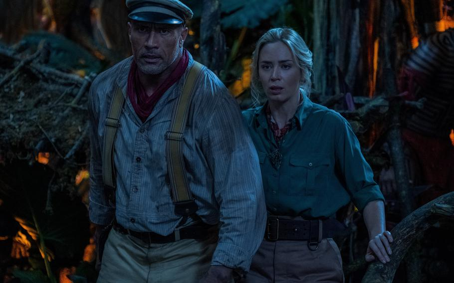 """Dwayne Johnson and Emily Blunt find chemistry while starring in """"Jungle Cruise."""""""
