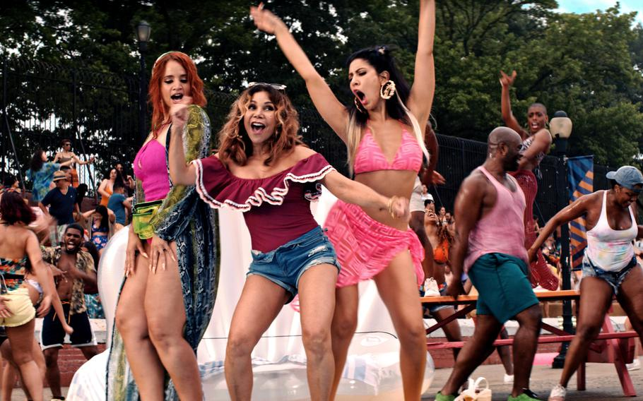 """This image released by Warner Bros. Pictures shows a scene from """"In the Heights."""""""