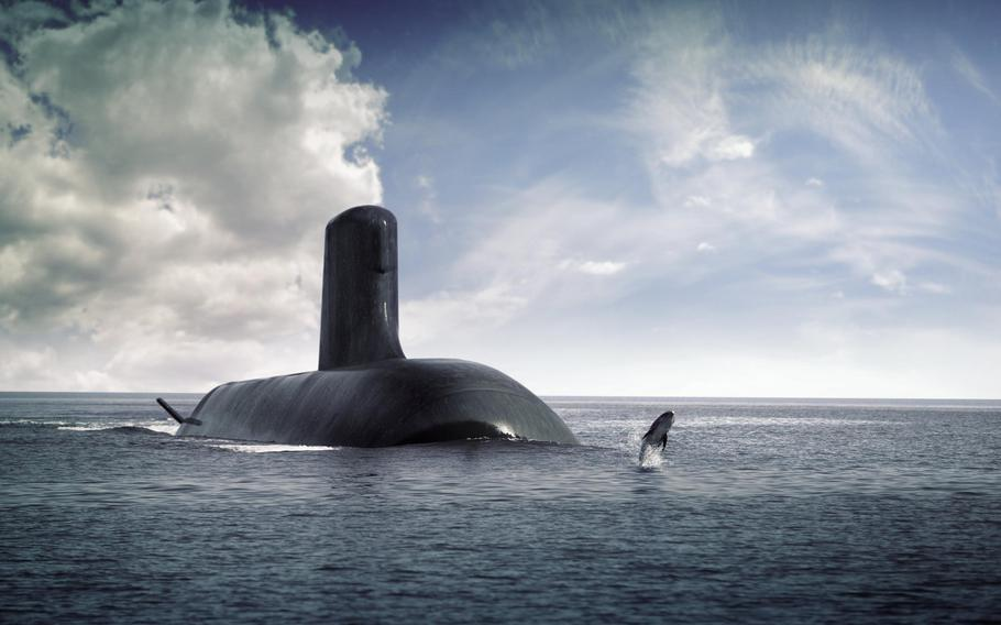 An earlier agreement with France called for Australia to purchase 12 French diesel-powered submarines.