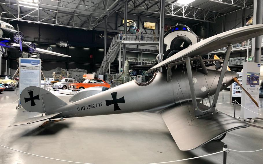The Pfalz DIII fighter used by the German flying corps during World War I was built in a factory that existed on the site of the current technical museum near Speyer, Germany.