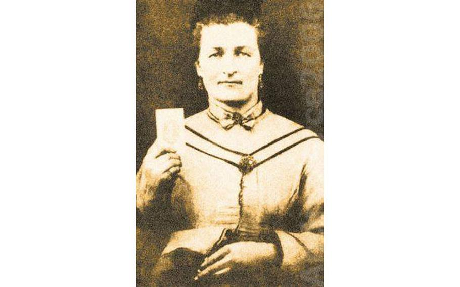 On March 20, 1862, Malinda Blalock disguised herself as a young man and enlisted in the Confederate army.