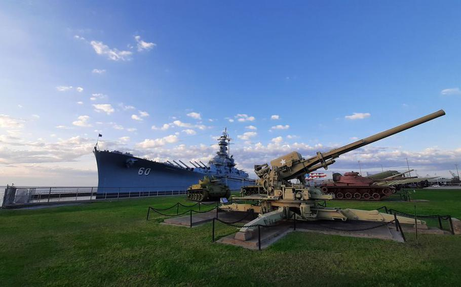 The USS Alabama on March 29, 2021.