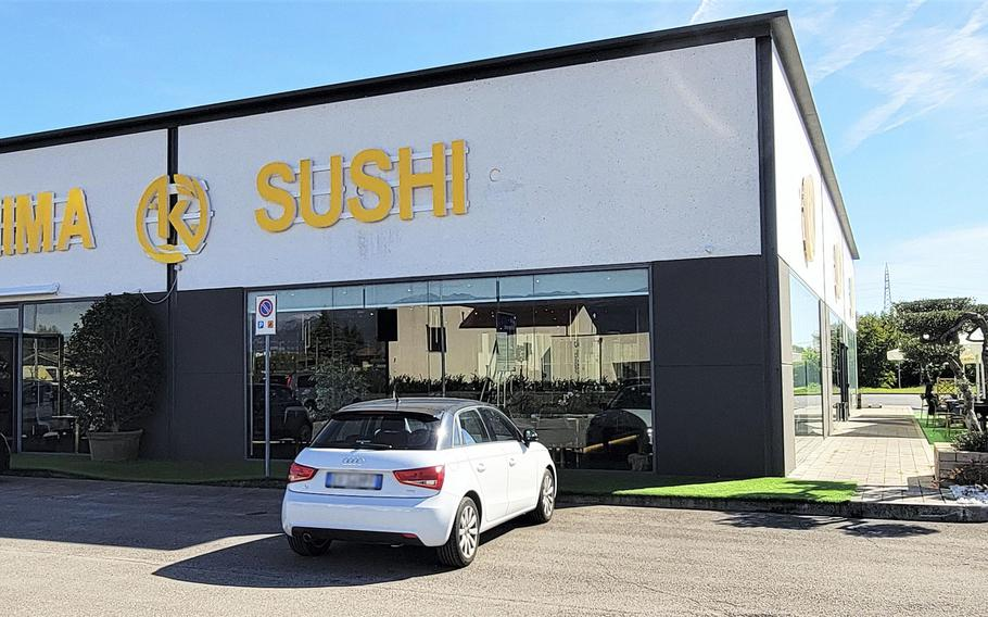 Kashima Sushi began in Milan in 2019 and recently opened a second location in Sacile, Italy.