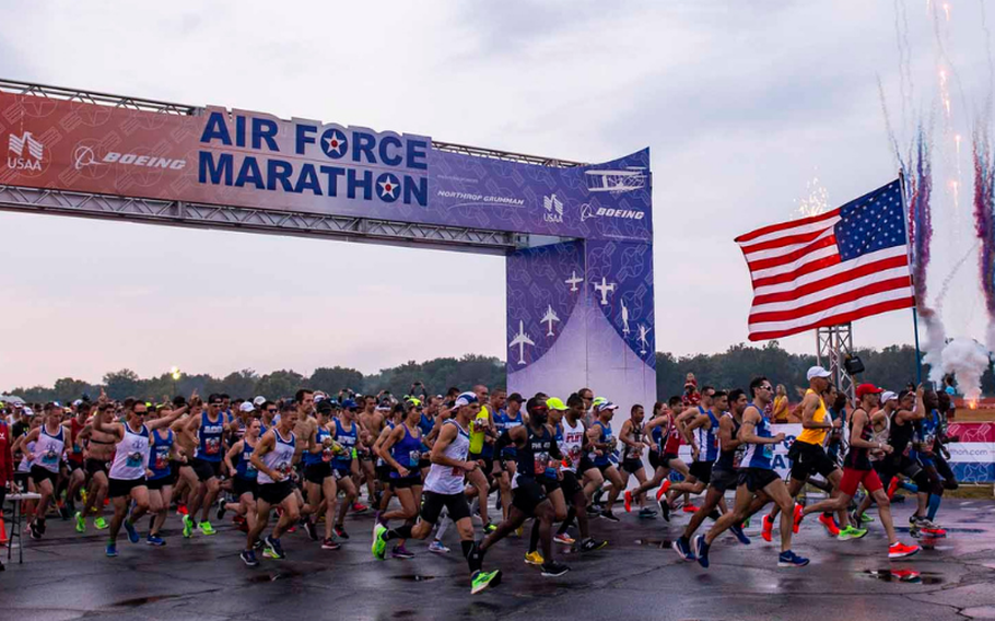 The Air Force Marathon is back for on-location racing in what will be its 25th anniversary on Sept. 18 this year.