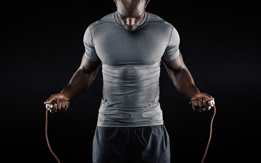 A jump-roping workout offers myriad health benefits, including improved speed, coordination and agility.