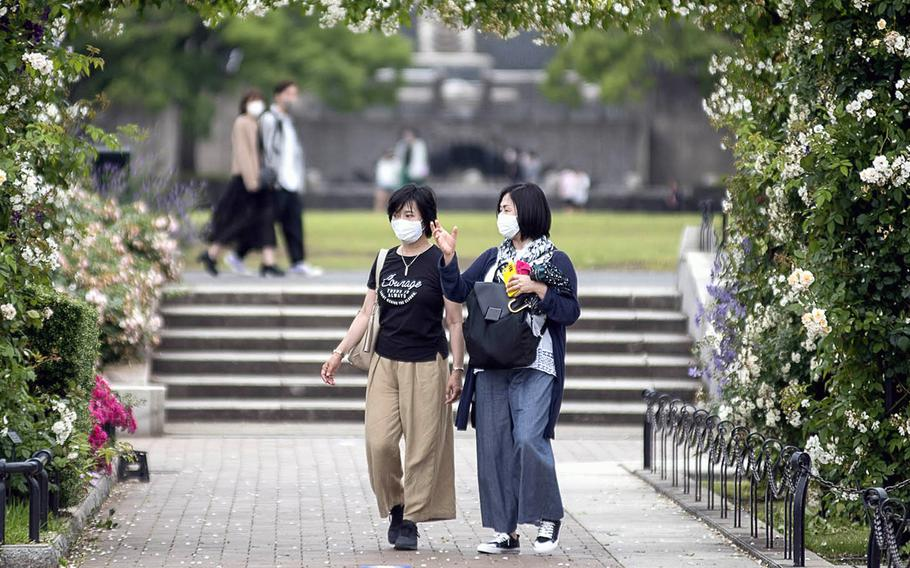 Tokyo reported 614 new coronavirus infections and six deaths on Friday, May 28, 2021.