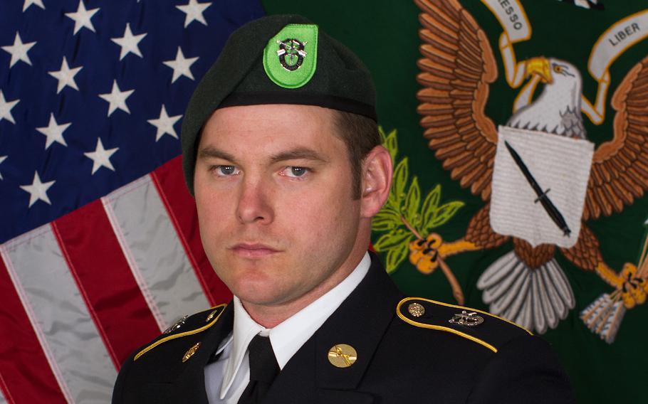 Staff Sgt. Micah Walker of Peyton, Colo., died Tuesday, July 27, during training at the Special Forces Underwater Operations School in Key West, Fla.