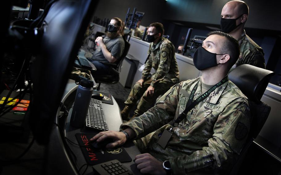 Cyber Command's mission is to direct, synchronize, and coordinate cyberspace planning and operations - to defend and advance national interest - in collaboration with domestic and international partners.