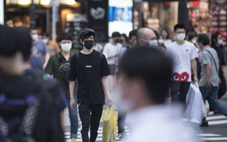 Tokyo reported 1,271 people newly infected with the coronavirus on Friday, July 16, 2021.