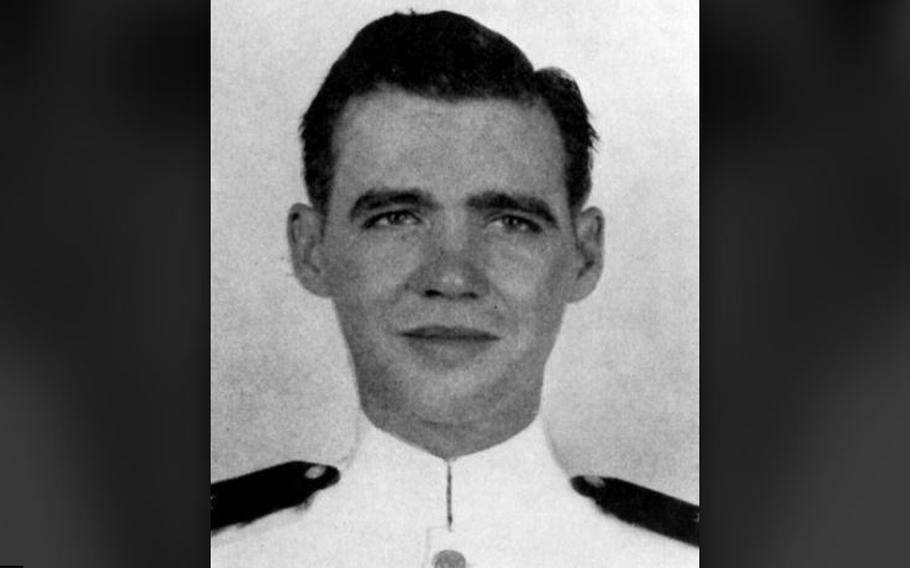 Francis Flaherty earned America's highest honor for military valor in action on Dec. 7, 1941, while serving as a Navy ensign aboard the USS Oklahoma during the bombing of Pearl Harbor.