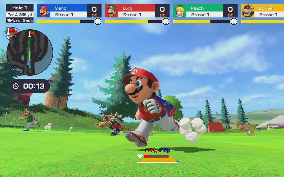 As in previous Mario titles,in Super Rush, you can play as Mario or any of a series of familiar faces.