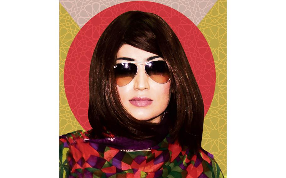 """Qandeel Balock, once dubbed Pakistan's Kim Kardashian, is seen on the cover of the book """"A Woman Like Her: The Story Behind the Honor Killing of a Social Media Star."""""""