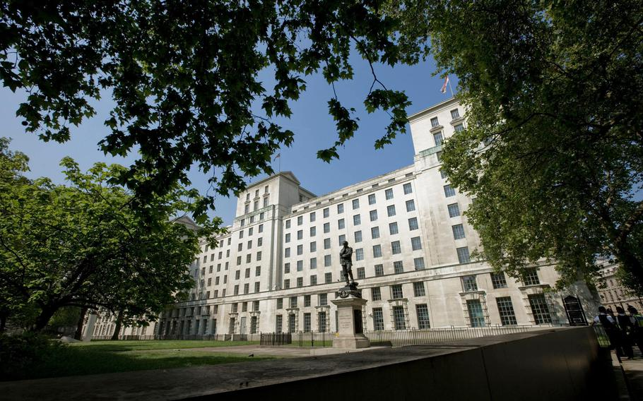 The U.K. Ministry of Defence.