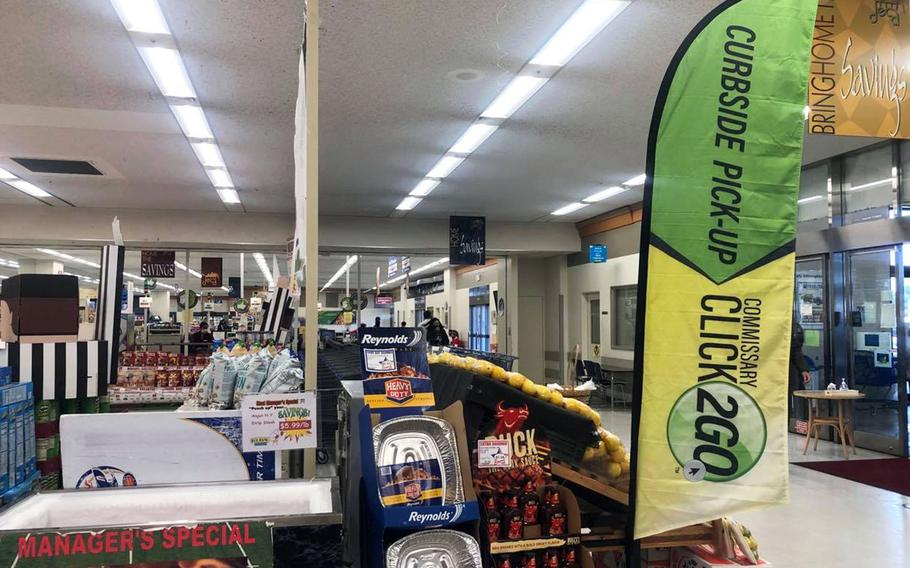 The commissary at Yokota Air Base and other installations in Japan are preparing to roll out their online shopping and curbside pickup service on Monday, Sept. 27, 2021.