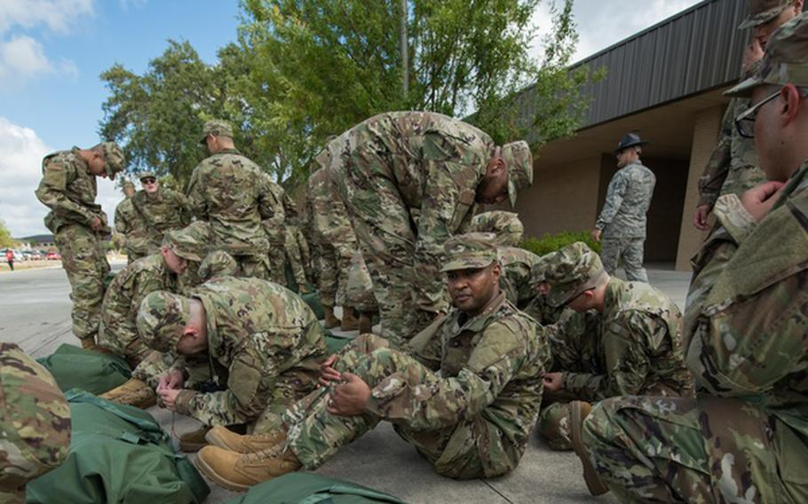 This work,BMTs receive first OCP uniforms.