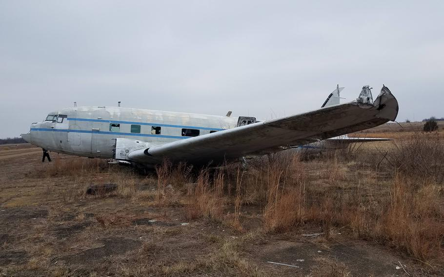 One of the airplanes that was sitting on an airfield in Rolla, Mo., the Ada Red, flew in several operations during World War II, including D-Day and Operation Market Garden. Gino Lucci bought Ada Red in 2020, a year after buying another plane that was in the field and transforming it into a motor home.