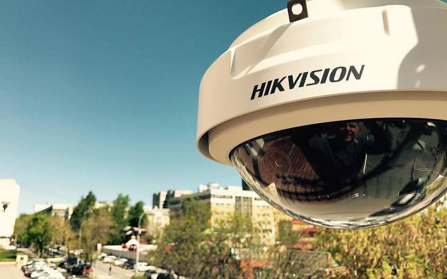 Hikvision PanoVu camera DS-2DP1636-D captures high quality 3D real time panoramic images.