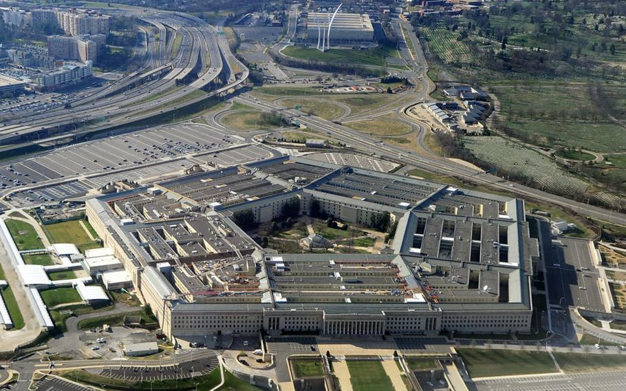 This picture taken December 26, 2011, shows the Pentagon building in Washington, DC.