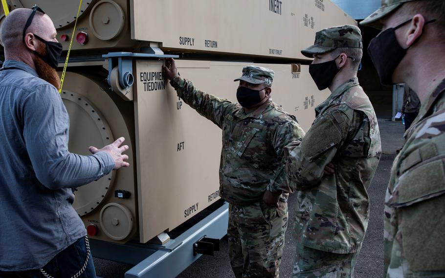 In March 2021, the Army began delivering the first prototype hypersonic equipment to soldiers with the arrival of two training canisters. Hypersonic weapons, capable of flying at speeds greater than five times the speed of sound, are a new capability that provide a unique combination of speed, maneuverability and altitude to defeat time-critical, heavily-defended and high value targets.