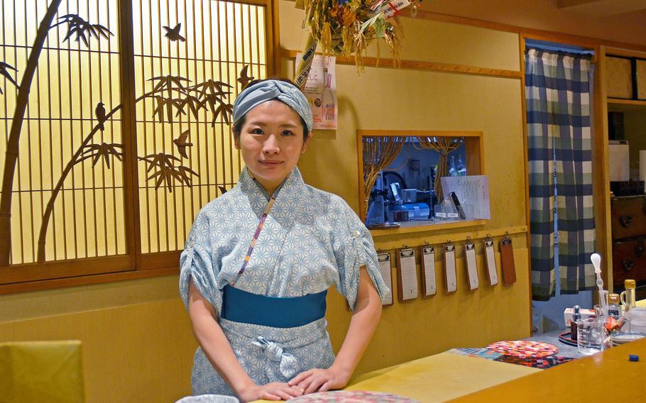 Yuki Chidui is head chef and manager of Nadeshico Sushi in Tokyo, Japan's only all-female staffed sushi restaurant.