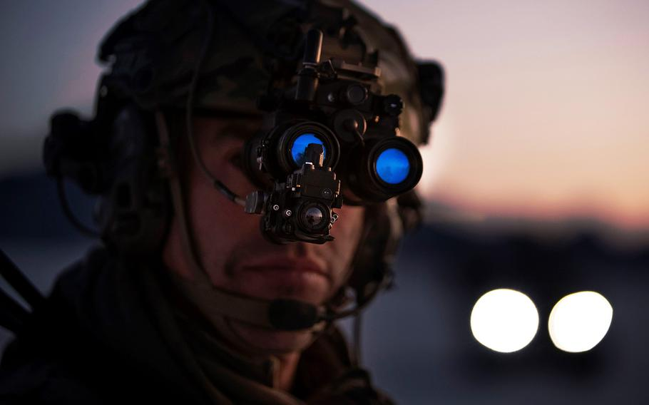 Elbit's enhanced night vision goggles have thermal imaging and augmented reality capabilities.