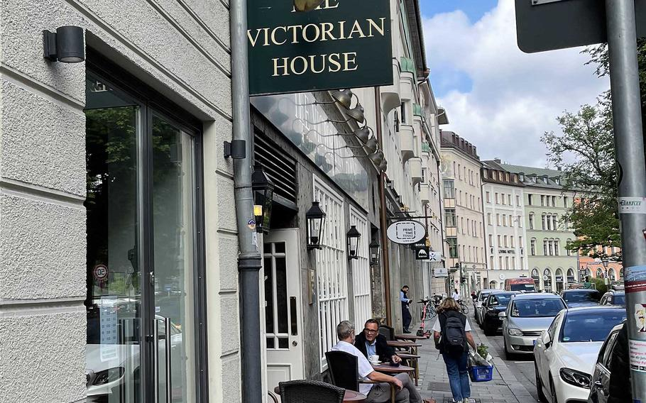 The Victorian House on July 2, 2021 in Munich, Germany. The restaurant is now open for dining in.
