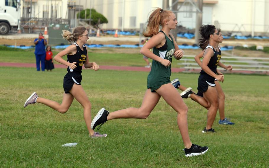 Cross country is among the sports to be offered to students at DODEA-Okinawa high schools for the coming fall. Others are football, golf, cheer, volleyball, tennis and drill.